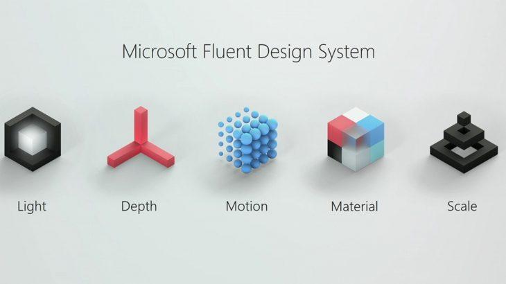 """Microsoft prezantoi """"Fluent Design,"""" pamjen e re të Windows 10-ës"""