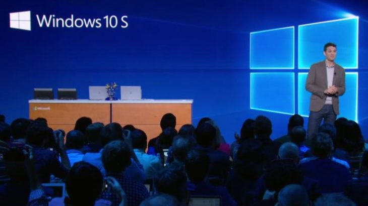 Microsoft prezantoi Windows 10 S për shkollat