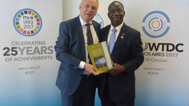 Kryetari i AKEP Z.Piro XHIXHO zhvillon takim me drejtorin e byrosë së zhvillimit të ITU Z.Brahima SANOU