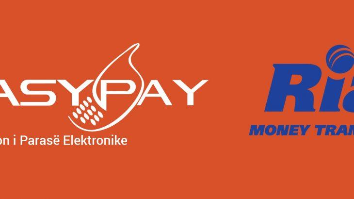 EasyPay nis bashkëpunimin me Ria Money Transfer