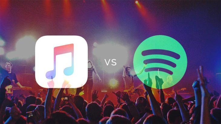 Apple Music e ka të vështirë të ruajë ritmin e Spotify