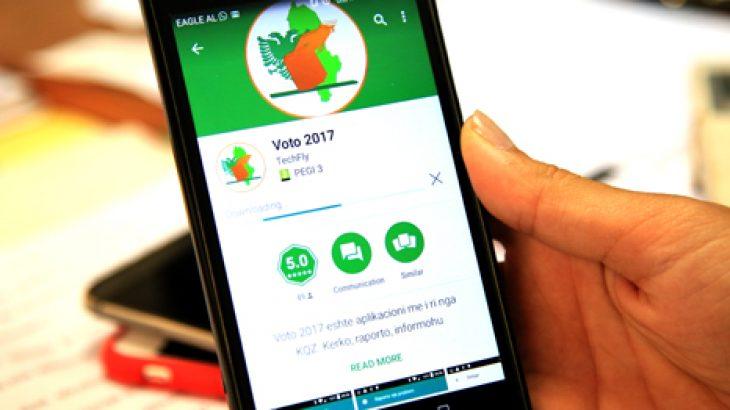 """Prezantohet aplikacioni """"VOTO 2017"""" dhe linjë telefonike pa pagesë"""