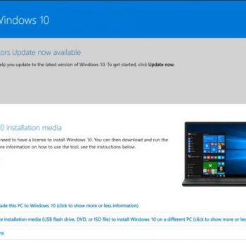 Ja sesi të shkarkoni skedarët e instalimit ISO të Windows 10-ës