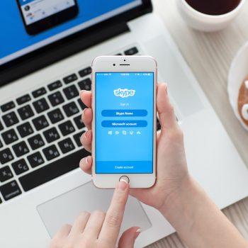 Aplikacioni i ri i Skype i disponueshëm për tu shkarkuar në Android