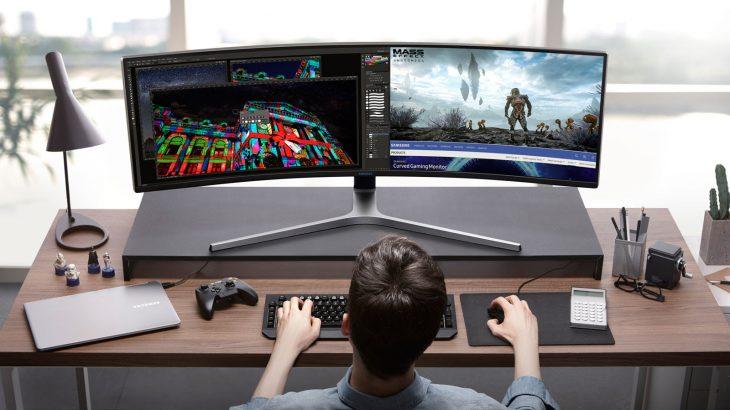 Samsung prezanton monitorët e parë HDR QLED të lojrave