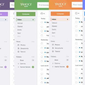 Yahoo Mail ndryshon pamjen në mënyrë radikale