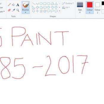 """Pas 32 vitesh Microsoft do të """"vrasë"""" aplikacionin Paint"""