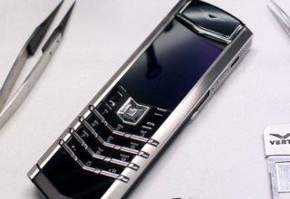 Falimenton prodhuesi Britanik i telefonëve luksozë Vertu