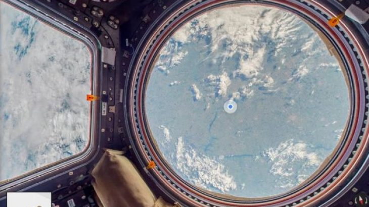 Google Maps eksploron Stacionin Ndërkombëtar Hapësinor