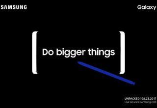 Zyrtare: Samsung prezanton Galaxy Note 8 me 23 Gusht