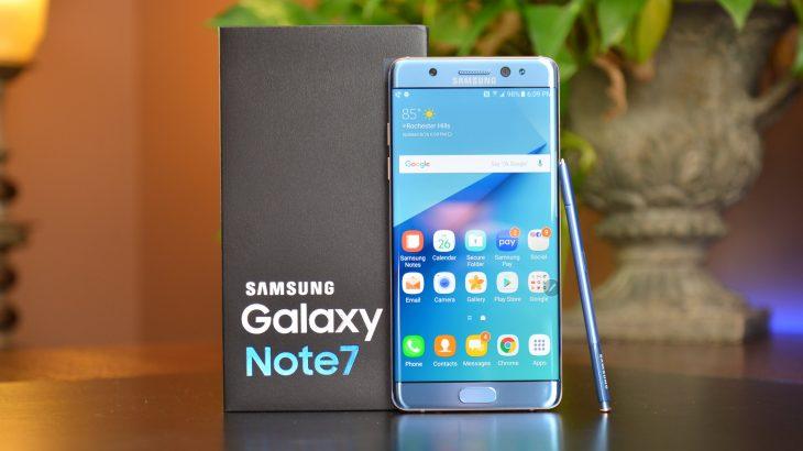 Samsung rikuperon metalet e çmuara nga Galaxy Note 7