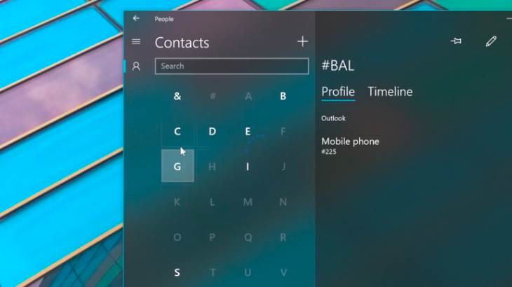 Microsoft implementon elementët e parë të Dizajnit Fluent