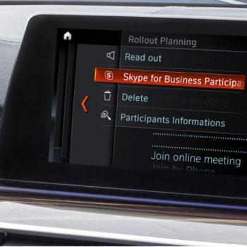 BMW sjell Skype for Business në Serinë 5