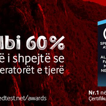 Vodafone është operatori celular me internetin më të shpejtë në Shqipëri thotë Speedtest.net