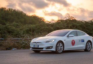 Tesla Model S vendos një rekord të ri, 1078 kilometra me një ngarkim të baterisë