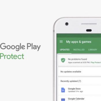 Google fillon dërgimin e Play Protect tek telefonët Android