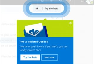 Microsoft lançoi një program beta për një Outlook.com më të mirë