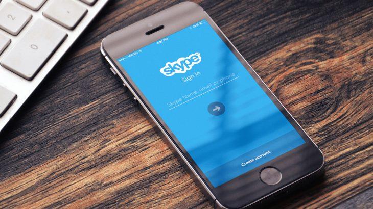 Bie përdorimi, Skype braktis stilin e Snapchat