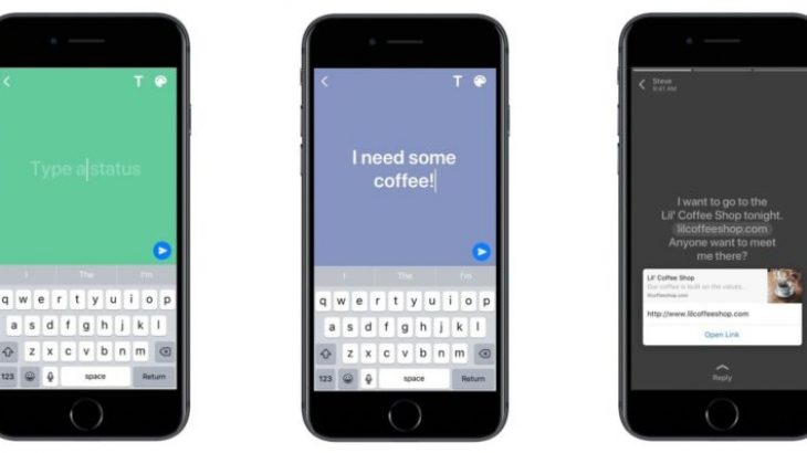 WhatsApp përditëson statuset me tekste shumëngjyrëshe