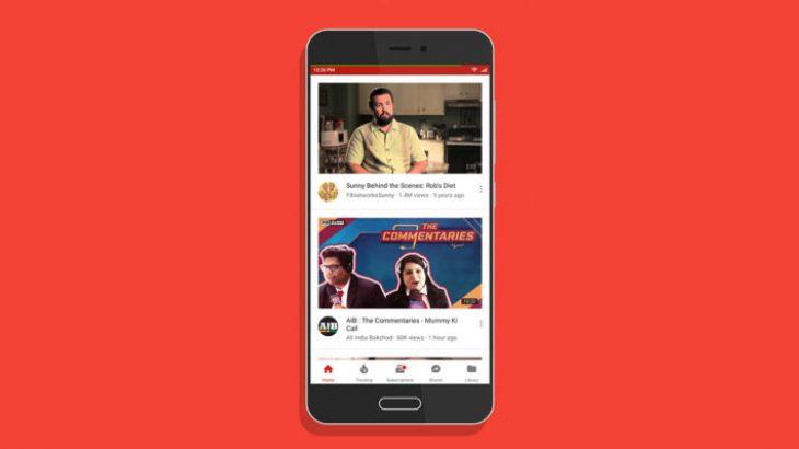Youtube do të sjellë përshpejtimin dhe ngadalësimin e videove në aplikacionin mobil