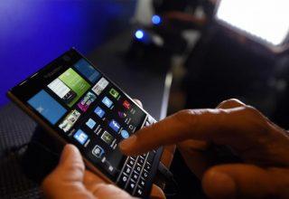 Rriten të ardhurat e BlackBerry nga softuerët dhe shërbimet
