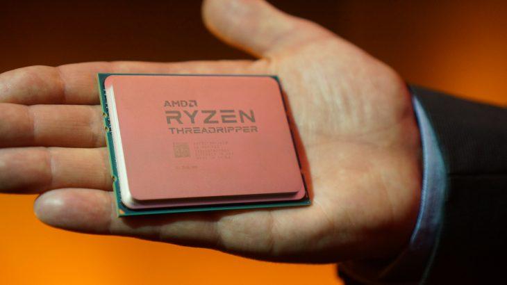 Procesori AMD Ryzen Threadripper 1950X arrin frekuencë rekord prej 5.2 Ghz