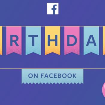 45 milion urime datëlindjeje dërgohen çdo ditë në Facebook