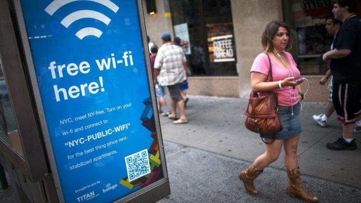 WiFi duke përdorur rrezen e dritës