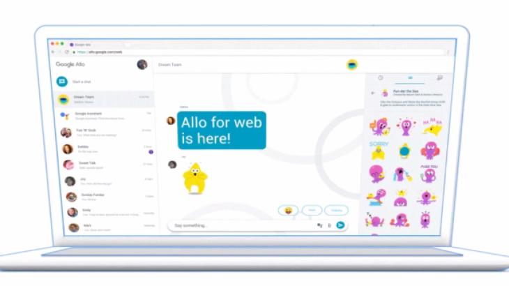 Google Allo mbërrin në desktop si një ueb aplikacion