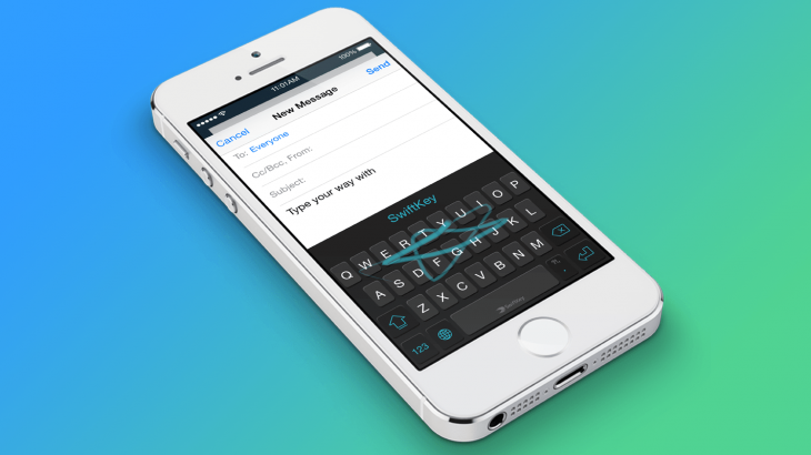 Microsoft shuan aplikacionin Word Flow, rekomandon SwiftKey