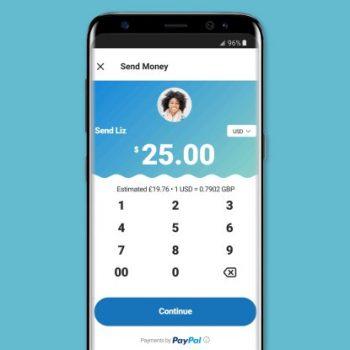 Dërgoni para nga PayPal përmes Skype në Android dhe iOS