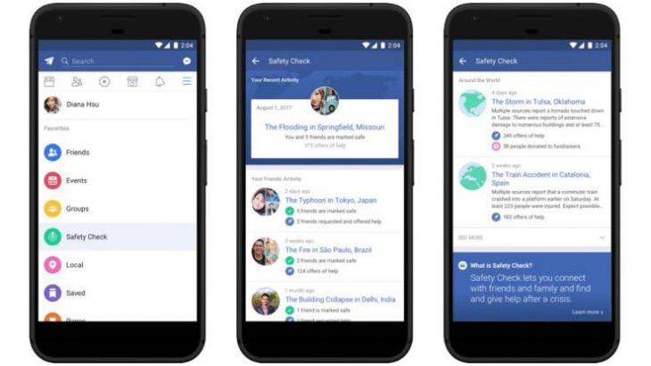 Facebook lançon një hapësirë të dedikuar për Safety Check