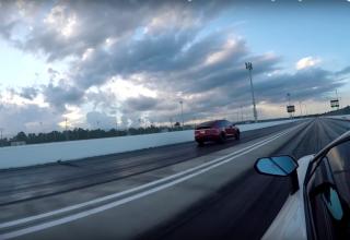 """Tesla Model X P100D """"thyen"""" një Lamborghini Aventador"""