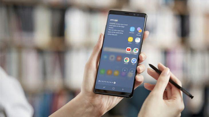 Përdoruesit e një telefoni Samsung Galaxy Note të palëkundur