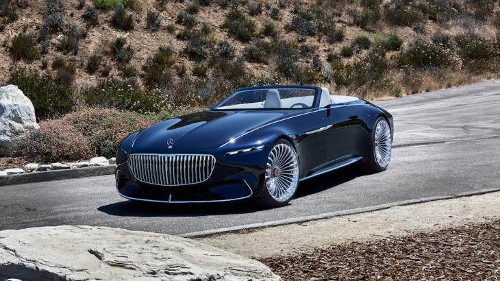 Mercedes rivalizon Tesla-n me makinën Maybach Vision 6