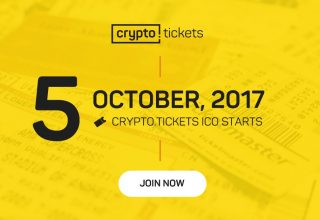 Crypto.tickets, platforma e parë e decentralizuar e biletave bazuar në blockchain