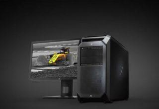 HP prezanton workstation Z8 me dy procesorë Xeon Platinium