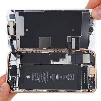 Ç'montimi i iPhone 8-ës nga iFixit zbulon një bateri më të vogël