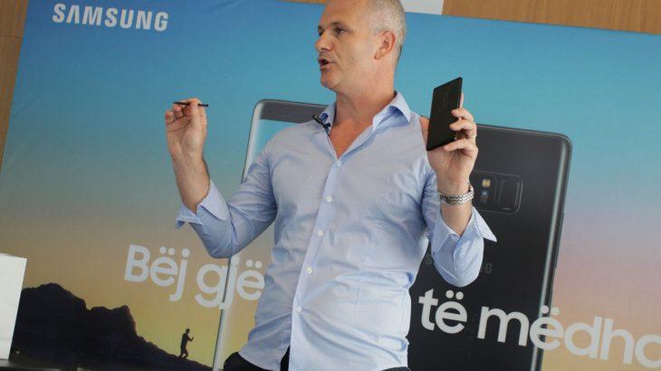 Prezantohet në Shqipëri smartfoni i gjeneratës tjetër, Samsung Galaxy Note 8