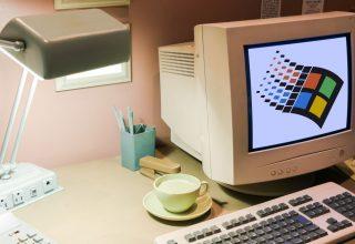 Si ngjante puna në një kompjuter me Windows 95