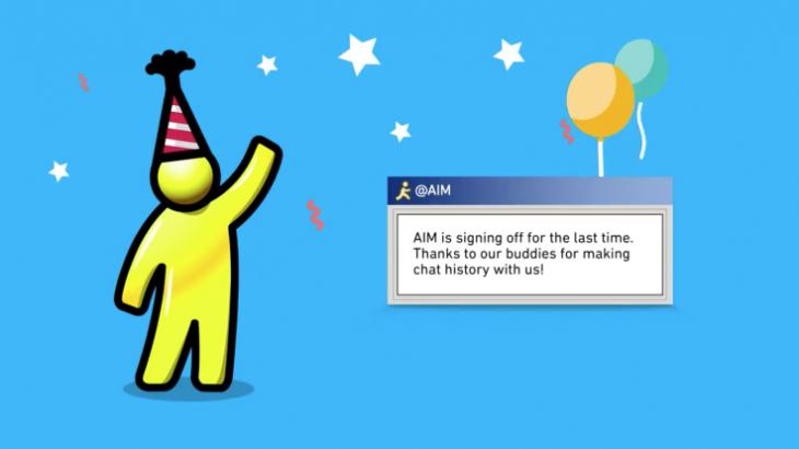 AOL Instant Messenger mbyllet pas 20 vitesh