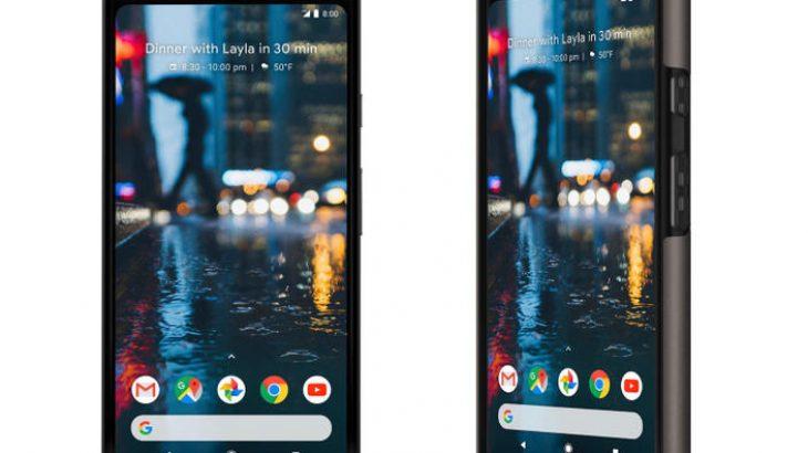 Publikohen foto zyrtare të Google Pixel 2 XL
