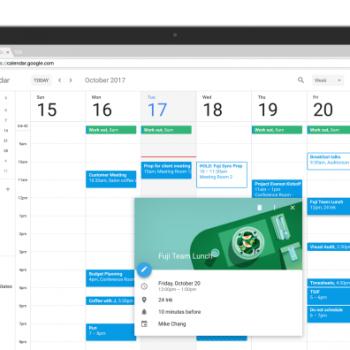 Google Calendar në ueb vjen me një pamje të re