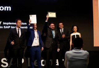 """ALBtelecom triumfon me marrjen e çmimit të artë ndërkombëtar """"SAP Quality Award"""" në fushën e IT"""