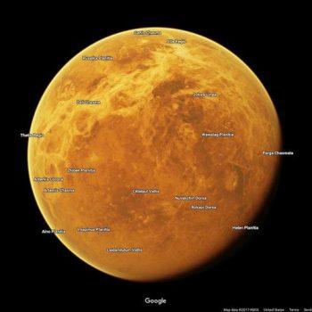 Google shton tre planete dhe nëntë hëna në Maps for Planets