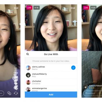 Instagram lejon deri në dy persona ti bashkohen një transmetimi live