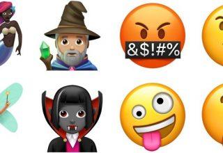 Apple konfirmon emoji të reja për iPhone dhe iPad në iOS 11.1