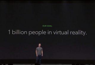 Mark Zuckerberg: Duam 1 miliard njerëz në realitetin virtual