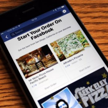 Qytetarët Amerikanë mund të porositin ushqim nga rrjeti social Facebook
