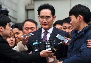 Trashëgimtari i fronit të Samsung Jay Y. Lee apeloi dënimin me burg
